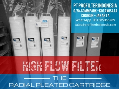 3M PFI Radial Pleated High Flow Cartridge Filter Indonesia  large