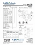 Series C Chemical Metering Dosing Pumps LMI Milton Roy