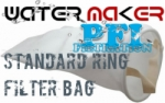 Filter Bag Polyester SS Steel Ring 25 micron