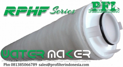 PFI RPHF Radial Pleat High Flow 3M Cuno Element 40 inch Filter Cartridge Indonesia  large