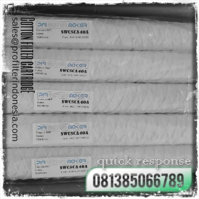 PFI SWC Cotton String Wound Filter Cartridge Indonesia  large