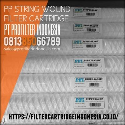 PFPP String Wound Filter Cartridge Indonesia  large