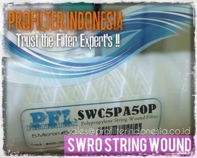 SWRO BWRO String Wound Cartridge Filter Indonesia  large