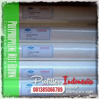 d CPPH60 Continental Polypropylene Melt Blown Filter Cartridge Indonesia  large