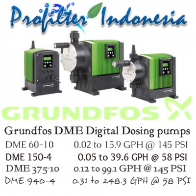 d d Grundfos DME Digital Dosing pumps Indonesia  large