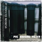 PFI PCB5-40 Housing Multi Filter Cartridge PVC