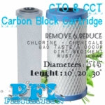 Carbon Block Filter Cartridge 40 inch